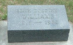 Edith Dorothy <i>Milne</i> Williams