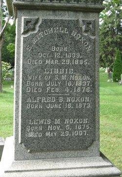 Elizabeth Libbie <i>Morse</i> Noxon