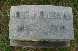 John P Dickman