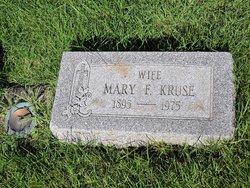 Mary F Kruse