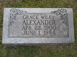 Grace <i>Wiley</i> Alexander