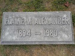 Elaine M. Alexander