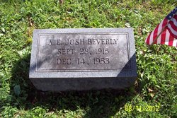 A. E. Josh Beverly