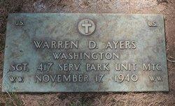 Warren D Ayers