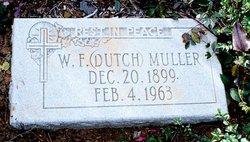 W. F. Dutch Muller