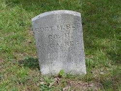 Pvt Robert M. Bee