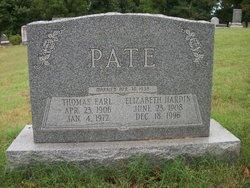 Elizabeth <i>Hardin</i> Pate