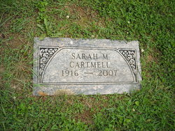 Sarah <i>Mahaffey</i> Cartmell