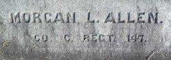 Pvt Morgan Laban Allen, Sr
