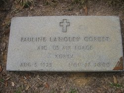 Pauline <i>Langley</i> Corbet