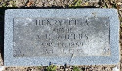 Henrietta <i>Smith</i> Rogers
