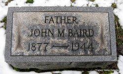 John M Baird