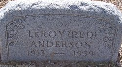 LeRoy Red Anderson