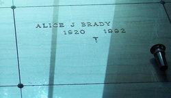 Alice Joan <i>Wynia</i> Brady