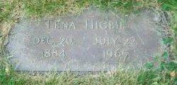 Albertina Christina Onora Tena <i>Benson</i> Higbie
