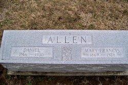 Mary Frances <i>Webb</i> Allen