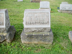 Anna M <i>Caldwell</i> Beale