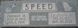 La Juana Jo <i>White</i> Drake & Speed