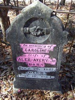 Caroline <i>Ragland</i> Avery