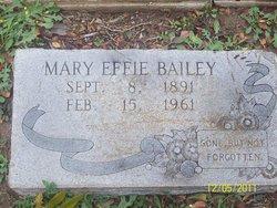 Mary Effie <i>Myers</i> Bailey