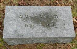 Alma R Morway