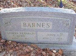 Geneva Franklin Barnes