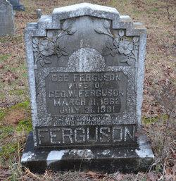 Sarah Harriet Pochontas Dee <i>McCollum</i> Ferguson