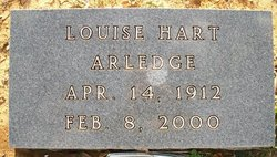 Louise <i>Hart</i> Arledge