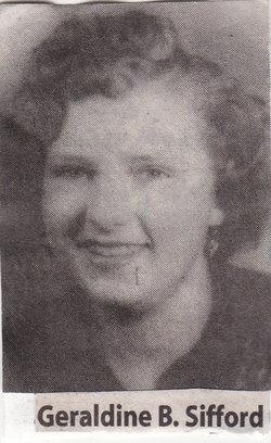 Geraldine B <i>Brooks</i> Sifford