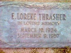 E Lorene Thrasher