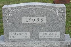 Roland W. Lyons