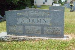 Mollie <i>Tugman</i> Adams