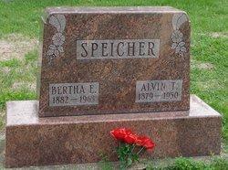 Bertha E <i>Worthington</i> Speicher