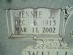 Jennie Lou <i>Jennings</i> Williamson