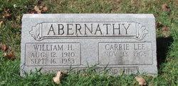 William H Abernathy