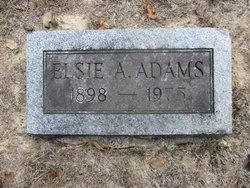 Elsie A. Adams