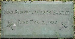 Roberta A. <i>Wilson</i> Baxter
