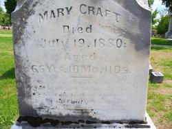 Mary <i>Murphy</i> Craft
