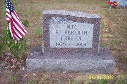 Alice Alberta <i>Draper</i> Fowler