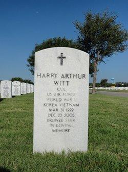 Harry Arthur Witt