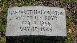 Margaret <i>Halyburton</i> Boyd