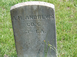 Pvt A H Andrews