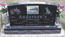Louise E. <i>Hillman</i> Anderson
