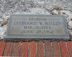 Lenord W Bailey