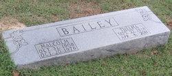 Malcolm F Bailey