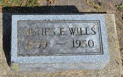 Agnes Elizabeth <i>Montz</i> Wills
