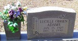 Lucille <i>O'Brien</i> Adams