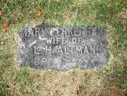 Mary G. <i>Ferkenhoff</i> Altman