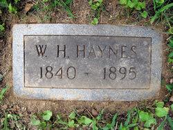 William H Haynes