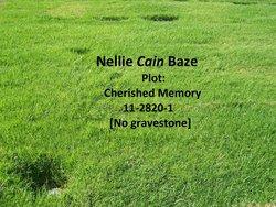 Nellie <i>Cain</i> Baze
